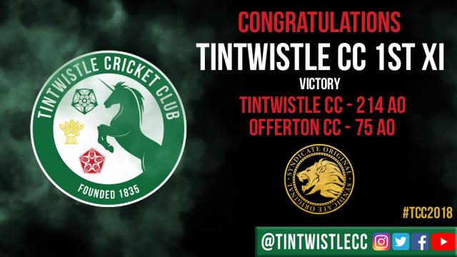 TCC Congratulations 2018 Offerton